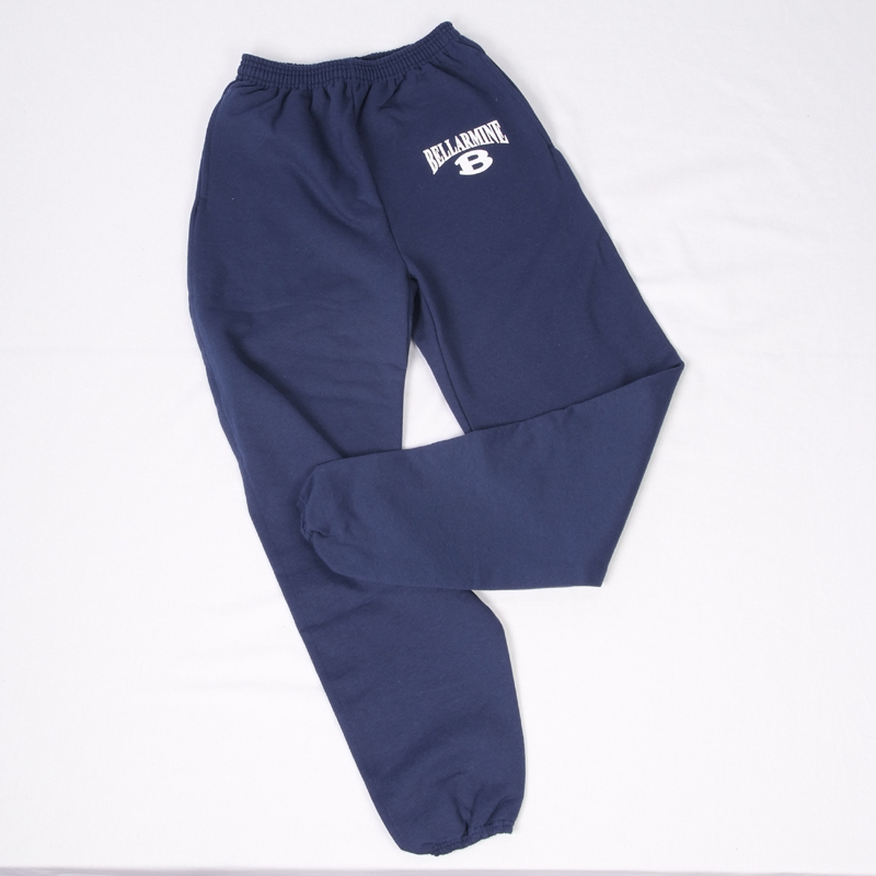 NEW Blue Sweatpants with B on Pocket