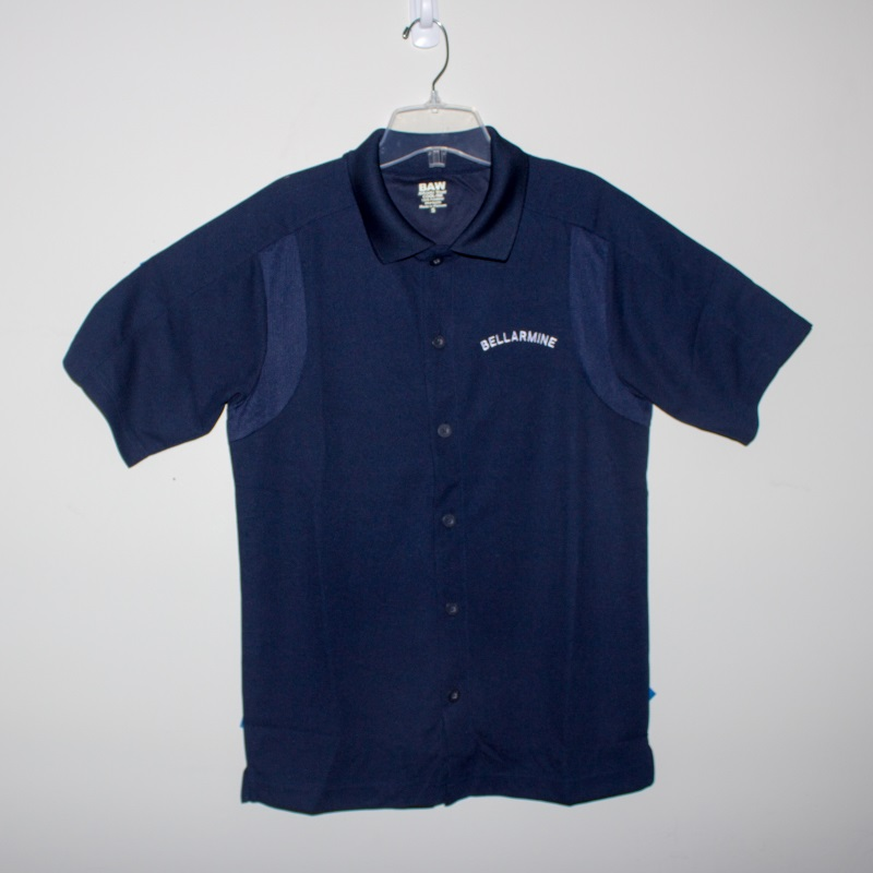 Navy NEFF Full Button