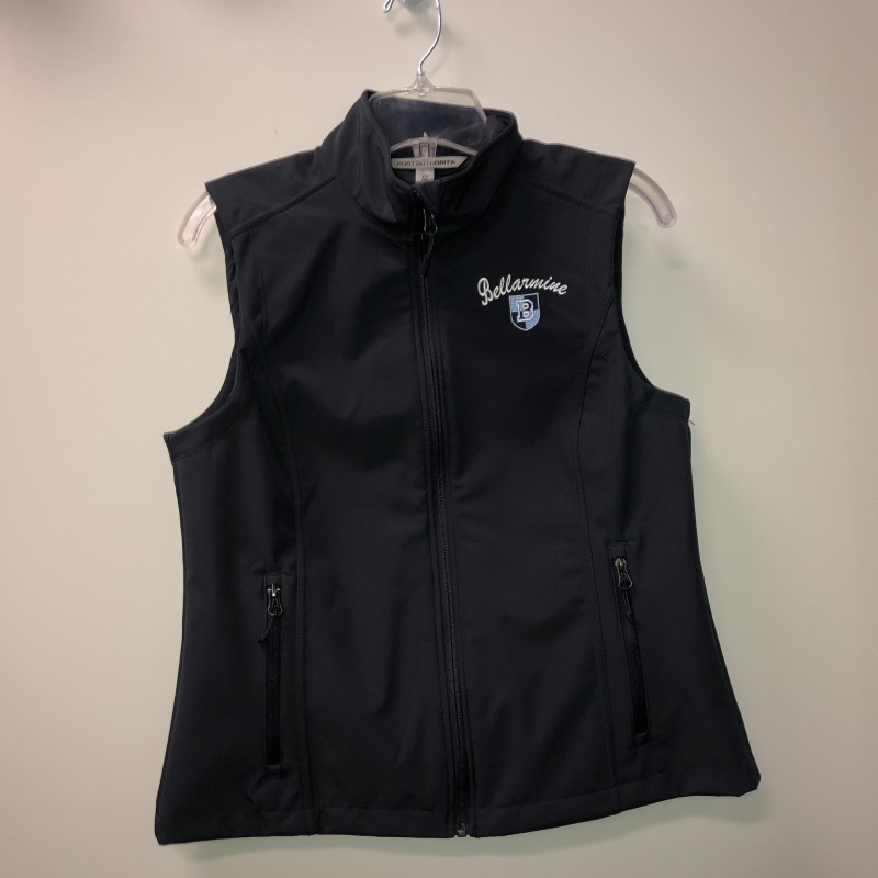 Ladies Charcoal Vest Medium