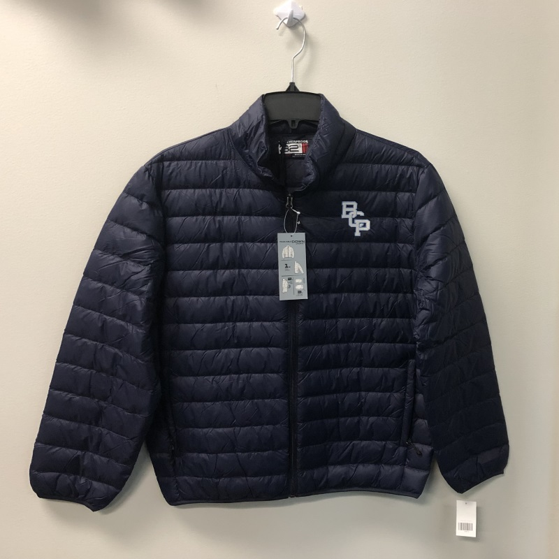 Men's Navy FZ Down
