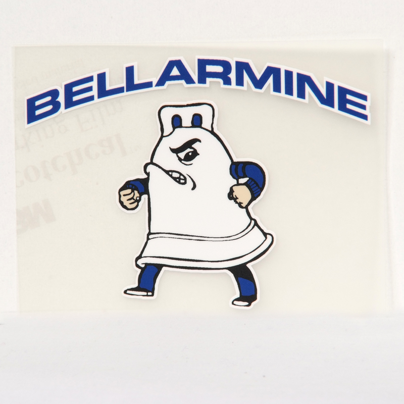 Bellar-man Window Sticker