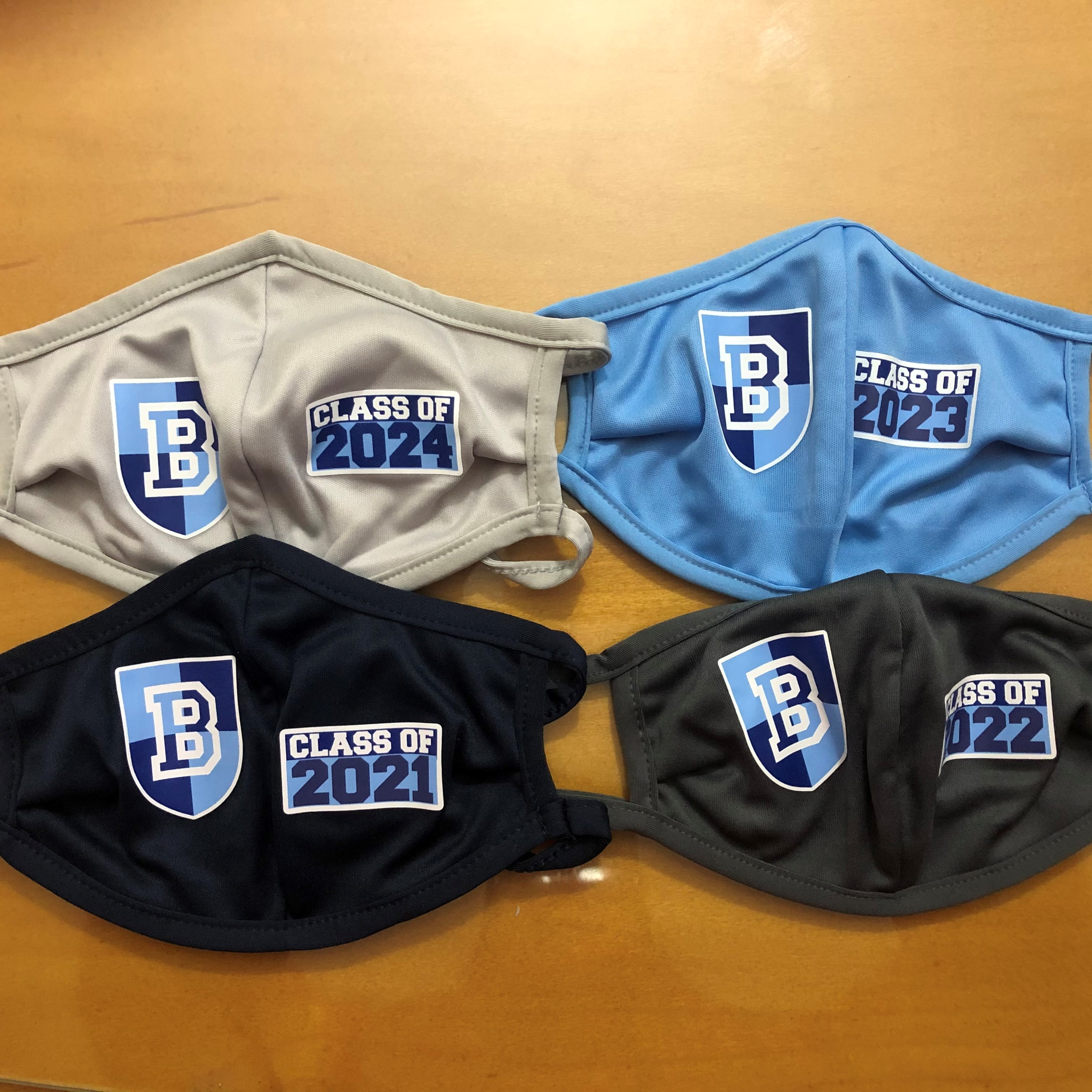 Bellarmine Class of face mask not approved for medical use -- specify year on order