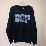 BCP Navy Crew Neck Large
