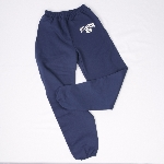 NAVY Blue Sweatpants with B on Pocket