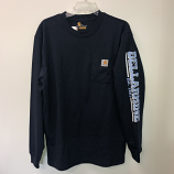 Navy Carhartt Long Sleeve M