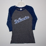 Ladies 3/4 sleeve 2Tone t-shirt