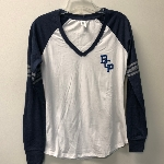 Ladies BCP long sleeve V Medium