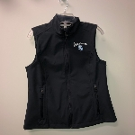 Ladies Charcoal Vest Small
