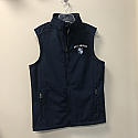 Men's Navy Vest Large